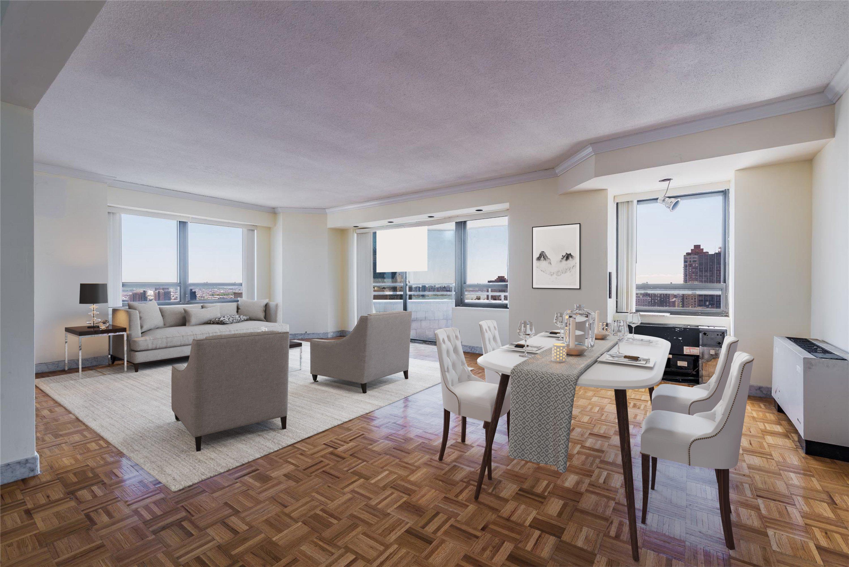240 E. 47th Living room